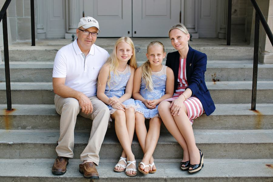 Victoria Spartz with her Family
